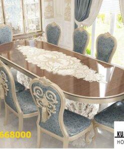 Meja Makan Malang Mewah Ukiran Modern