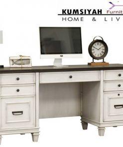 Meja Kantor Minimalis Putih Modern