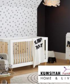 Ranjang Bayi Kayu Minimalis Lennox