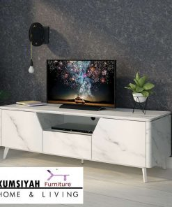 Meja Tv Marmer Minimalis Modern