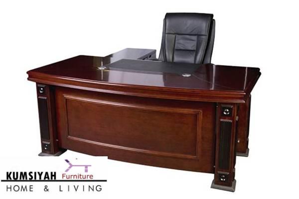 meja kantor direktur jati