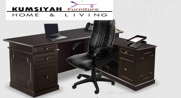 meja kantor direktur sudut