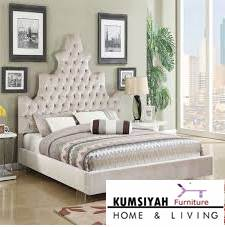 tempat tidur mewah minimalis jati