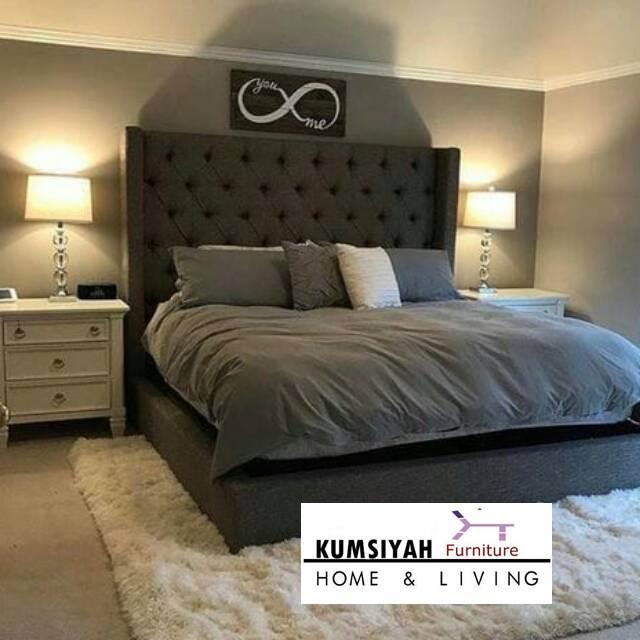 tempat tidur mewah modern