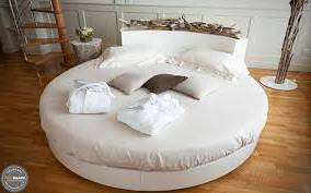 tempat tidur minimalis bundar