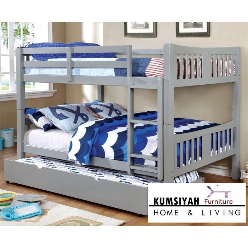 tempat tidur sorong minimalistingkat