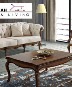 Jual Kursi Sofa Jati Mewah Modern Terbaru Jepara