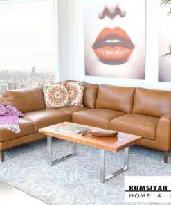 Jual Kursi Sofa Sudut L Palembang Modern Spring Street