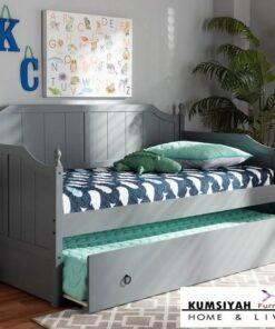 Jual Sofa Bed Kayu Jati Jepara Kalel Wood Twin