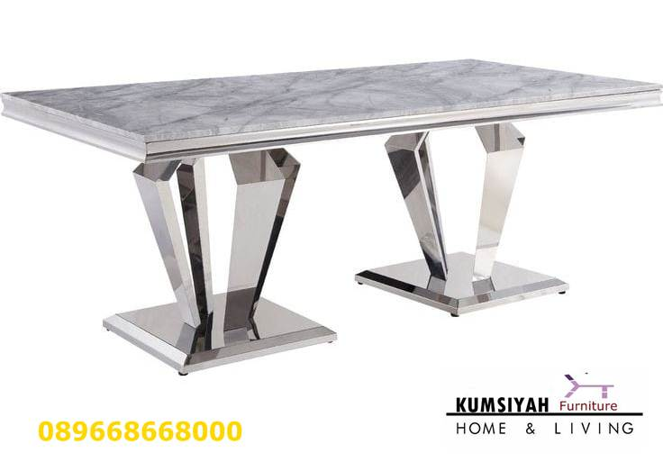 Jasa Pembuatan Custom Kaki Meja Stainless Steel Pengrajin Unik