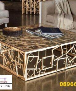 Harga Kaki Meja Stainless Gold Desain Minimalis Klasik