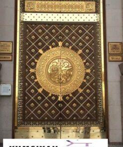 Jual Pintu Masjid Nabawi Kayu Jati Berkualitas