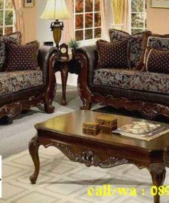 Jual Kursi Sofa Jati Klasik Desain Minimalis