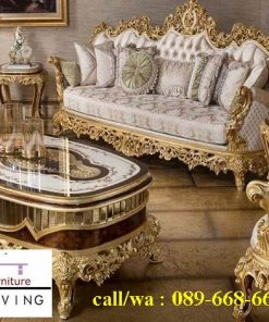 Sofa Mewah Warna Gold Cat Duco Harga Murah