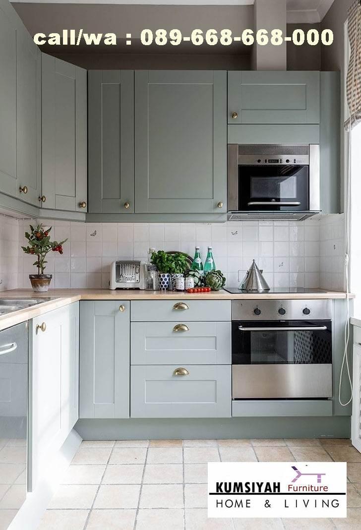 Jual Kitchen Set Hpl Kudus Bentuk Terbaru Terbaik