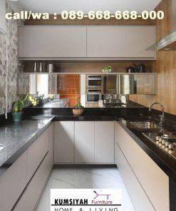 Jual Kitchen Set Kendal Minimalis Harga Murah